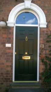 Edwardian Solid, Arch Top Light - July 2014