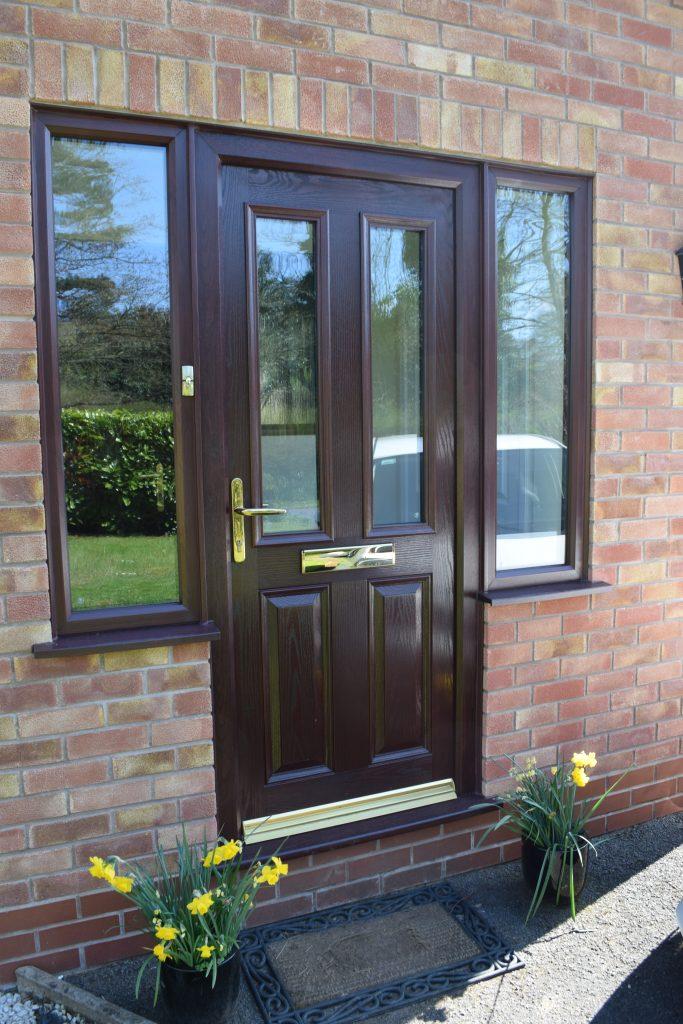 Rosewood Door & frame