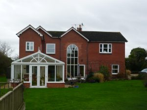 uPVC Feature Arch