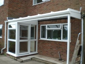 Porch redesigned AFTER with canopy