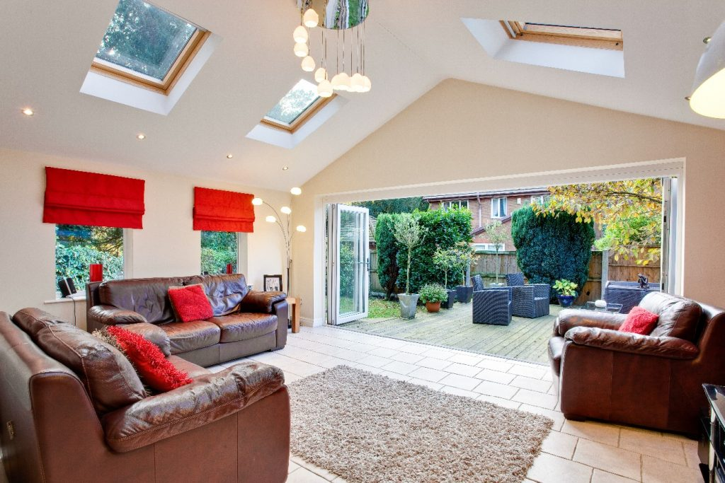 Tiled Pitched Gable Interior